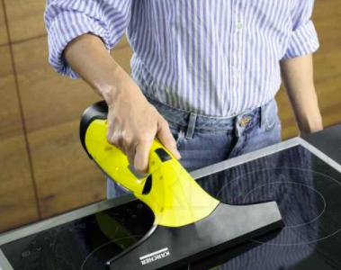 Laveur de vitres électriques nettoyage plaque vitro céramique