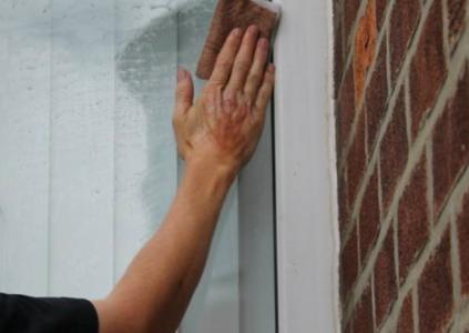 Récurage de vitres