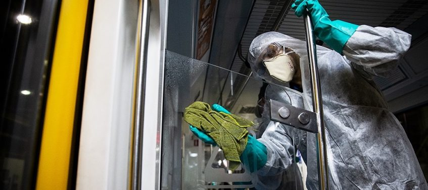 lavage de vitres Coronavirus (COVID-19)