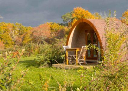 Pod d'extérieur en bois