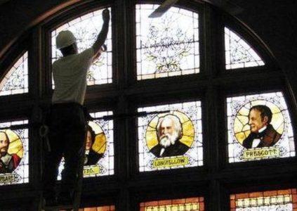 Nettoyage vitraux