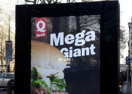 Nettoyage des surfaces des panneaux publicitaires