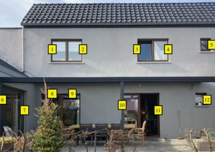 Comptage de vitres simples