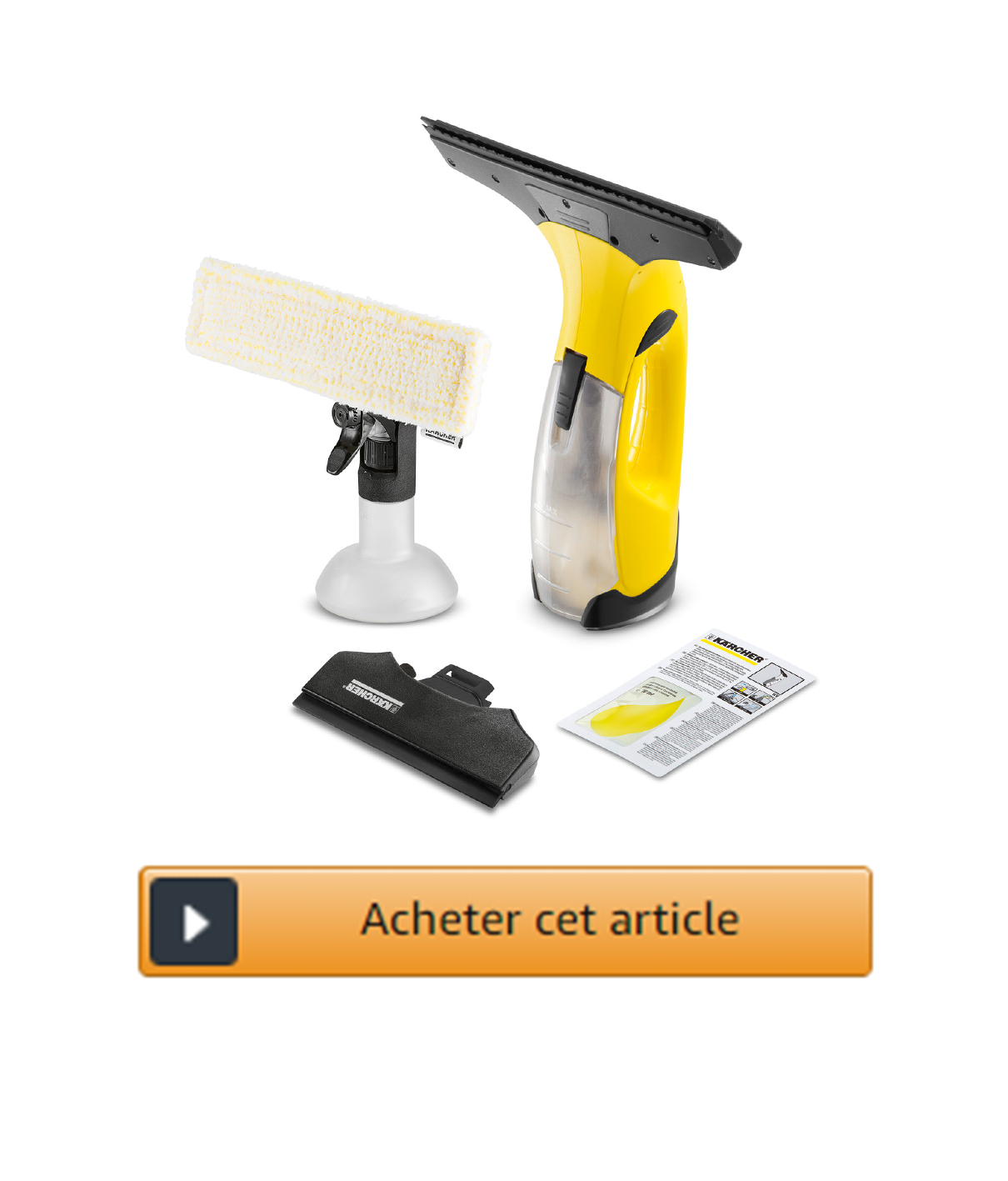 nettoyeur de vitres électrique Karcher