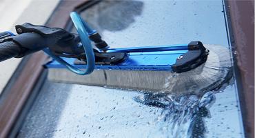 Nettoyage de vitres à l'eau ultra pure